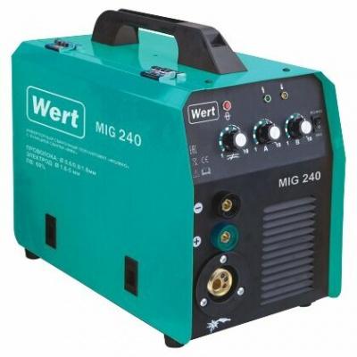 Купить Сварочный аппарат Wert MIG 240 (MIG/MAG, MMA) в каталоге интернет магазина Время ТВ по выгодной цене с доставкой, отзывы, фотографии - Москва